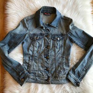 Espirit Women's Size 0 Blue Jean Jacket EUC